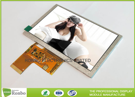Bright 5 Inch 800x480 40 Pin Lcd Display , TFT LCD Screen Replace AT050TN43