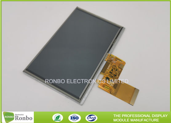 "FPC Connector 5"" 800x480 850cd/m² TFT Touch Screen Display"
