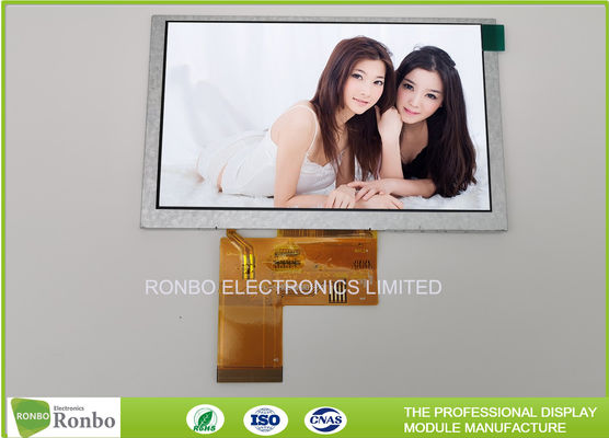 "ZIF Connector RGB 5"" IPS 800x480 500cd/m² IPS LCD Display"