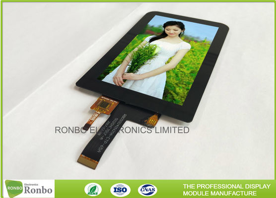 High Luminance IPS Touch Screen LCD Display 5.0 Inch 480 * 854 460cd / M² Brightness
